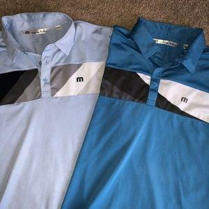 Travis Mathew TM Lot 2 Golf Polo Shirts